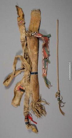 S. Cheyenne bowcase-quiver, pre 1881 from Rev. Voth NMNH ac