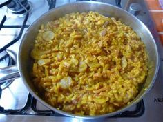 Slimming world Sausage & Bacon Paella Slimming World Paella, Slimming World Sausages, Slimming World Recipes Extra Easy, Cooking Recipes, Healthy Recipes, Healthy Meals, Vegetable Stock, Baked Beans, 2 Ingredients