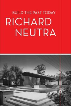 Richard Neutra Architectural Plans - The Agency California Architecture, Modern Architecture House, Architecture Plan, Beautiful Architecture, Best House Plans, Modern House Plans, Richard Neutra, Best Architects, Mid Century House
