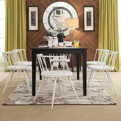 INSPIRE Q Truman Low Back Windsor Classic Side Chair (Set of 2) - Overstock™ Shopping - Great Deals on INSPIRE Q Dining Chairs