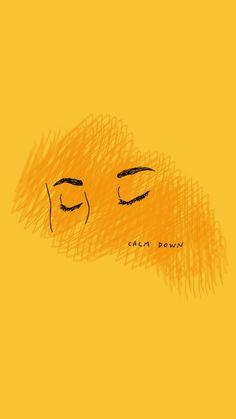Yellow, aesthetic, and calm image. Landscape Illustration, Illustration Art, Yellow Quotes, Pop Art, Whatsapp Wallpaper, Disney Instagram, Mellow Yellow, Yellow Sun, Happy Colors