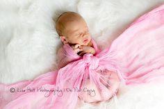Bubblegum Pink Cheesecloth Fabric, Baby Wrap Prop, Newborn Girls Photo Props