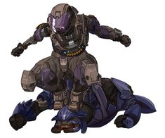 Remember the Zealot in Halo Reach at the mining facility? Yeah, I totally did this to him. FELT. SO. GOOD. SMOOSH!