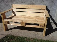 D.I.Y Pallet Bench