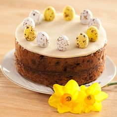 Paul Hollywood's Easter Simnel cake