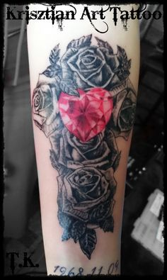 1000 ideas about diamond heart tattoos on pinterest for Diamond heart tattoo