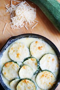 This cheesy zucchini gratin takes the best of low carb and high fat to create a delicious new side dish to add to your weekly family dinners!