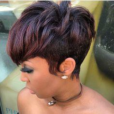 Galerie von future hair style maybe hair hair style - future Short Sassy Hair, Short Hair Cuts, Short Hair Styles, Pixie Cuts, Pixie Styles, Short Pixie, Love Hair, Great Hair, Gorgeous Hair