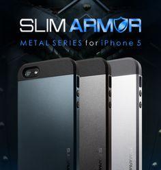 SPIGEN SGP | iPhone 5 Case Slim Armor - Apple iPhone - Cell Phones