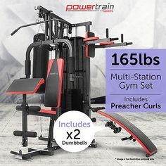 Best multi station home gym images in professional gym