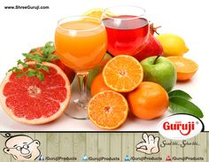 Healthy Breakfast Will Make You Feel Refreshed, try Guruji's range of Orange Squash.