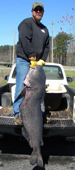 Alabama's Blue Catfish State Record Shattered