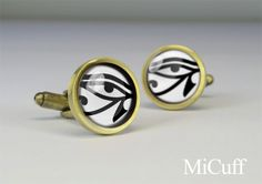 Eye of Horus cuff link