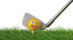 #emoji #practice #golf #balls