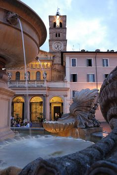 Santa Maria in Trastevere, Rome, province of Rome Lazio Visit Rome, Visit Italy, Monuments, Rome Florence, Places To Travel, Places To Visit, Beau Site, Regions Of Italy, Place Of Worship