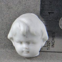 Vintage German Ceramic  Doll Head For Altered Art by oscarcrow, $5.00