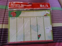 Calendario semanal
