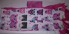 ON SALE Owl Toddler Girl Hooded Poncho Back to School