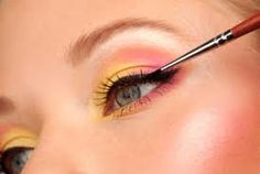 STOP EYELINER SMEARING FOREVER! Step 1: Put on your eyeliner pencil. Step 2: Use an angled brush to set it with matching eyeshadow powder. Locks it in so it stays all day! (this website has SO MANY GREAT makeup tips!)