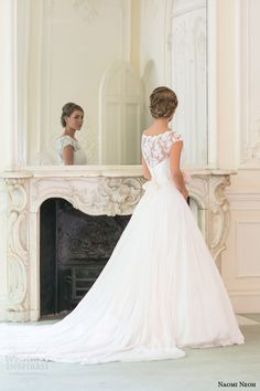 Secret Garden – Bridal Collection By Naomi Neoh 2014. I LOVE this...beautiful but church appropriate at the same time!