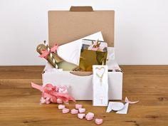 Geschenkbox: Happy Happy Love, Liebe von feierschick auf DaWanda.com