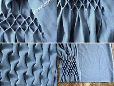 I'm eager to find a need to use this creative fabric manipulation technique.