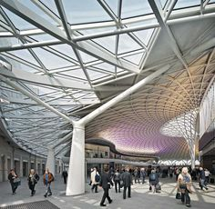 Atrium/ Courtyard Roof_King´s-Cross-Station