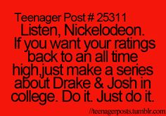 Disney already screwed up so its Nickelodeon's chance to turn things around.