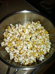 Popcorn with Yacon syrup | REFORM HEALTH COACHING & FITNESS