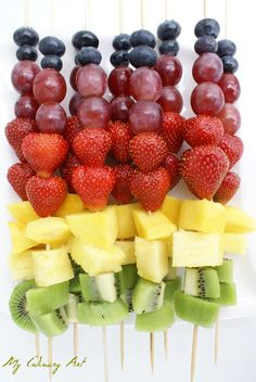 Arts And Crafts Wallpaper Product Healthy Lunches For Kids, Healthy Toddler Meals, Healthy Snacks, Healthy Recipes, Toddler Food, Catering Food Displays, Fruit Displays, Fruit Kabobs, Fruit Salad