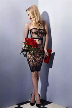 DINNER WITH HIM CORSET DRESS |  Wheels and Dollbaby - Clothes to snare a Millionaire