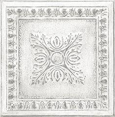 For LivRm--lower wall -- NuWallpaper NU2495 Reclaimed Tin Peel & Stick Wallpaper