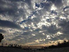 Crazy Sky Over The River