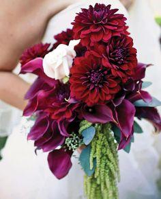 13 Modern Cascading Wedding Bouquets | https://www.theknot.com/content/13-modern-cascading-pageant-wedding-bouquets