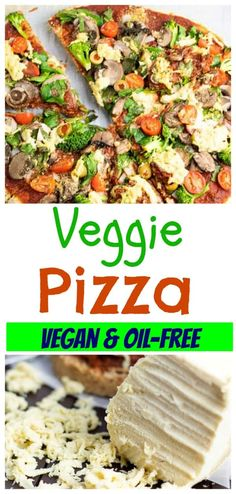 Sometimes I'm just tired and don't feel like cooking. On those days at my house, we are very likely to make this gluten-free vegan pizza recipe. It is so easy to prepare and can be ready in minutes. #veganpizza #veggiepizza #glutenfreepizza #dairyfreepizza #veggiepizzatoppings
