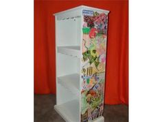 Mrs Clougher S 1st Grade Cl Decoupage Bookshelf