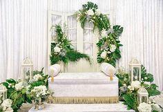 The solemnization of Farhana & Afiq.  Visit our website www.kseenahouse.com for further information.  #kseenahouse #heritage #architecture #interiordecor #rent #exclusivebungalow #eventvenue #eventspace #canopy #khemah #chiavari #malaysia #kualalumpur #nikah #wedding #gardenwedding #malayweddings #malayweddingguide #wedding #nikah #solemnization #pelamin #dais