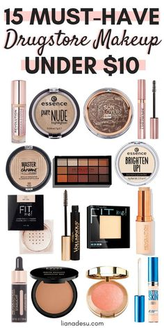 top 10 drugstore makeup buys for fall  drugstore makeup