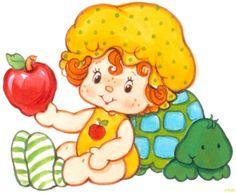 Strawberry Shortcake's Apple Dumpling and Teatime Turtle Strawberry Shortcake Cartoon, Cute Cartoon Pictures, Apple Dumplings, Chibi, Cartoon Posters, Dibujos Cute, Old Cartoons, Happy Mom, Clipart
