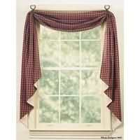 Country Curtains - Fishtail Swags - Country Village Shoppe