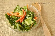 como comer kale
