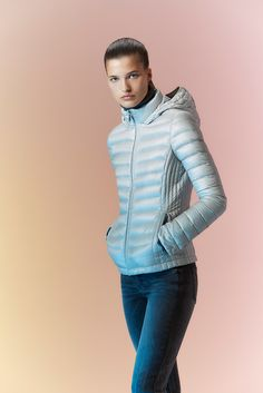 new product f7877 3acbf To give the jetsetter in your life  a packable down jacket. Fashion  Photography,