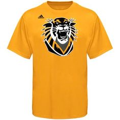 adidas Fort Hays State University Tigers Second Best T-Shirt - Gold