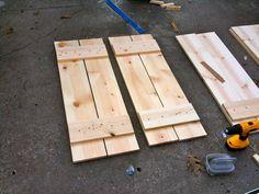 Jenny Steffens Hobick: HOME   DIY Wood Shutters