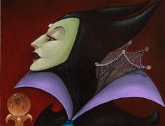Evil Queen-Sleeping Beauty