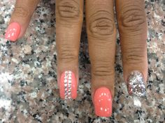 Nail design could be cute for Vegas. Same concept...shorter nails.