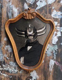 Goldorak - Des portraits de super-héros façon 19ème siècle
