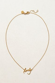 Lovely Necklace   #anthropologie
