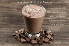 Raw Hemp Hearts are the superfood that you didn't know you needed, but once you try it and see the weight loss benefits and your soft smooth skin you'll be Healthy Mind, Healthy Hair, Maca Benefits, Cacao Recipes, Yogurt, Healthy Fruits And Vegetables, Hemp Hearts, Chocolate Dreams, Smoothie Recipes