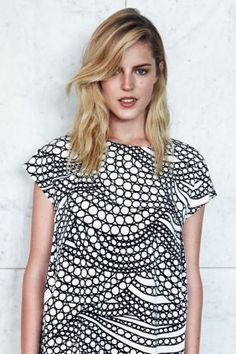 Marimekko 'Kuplahdus' I love this pattern, sadly I think there is too much white in it for me :(